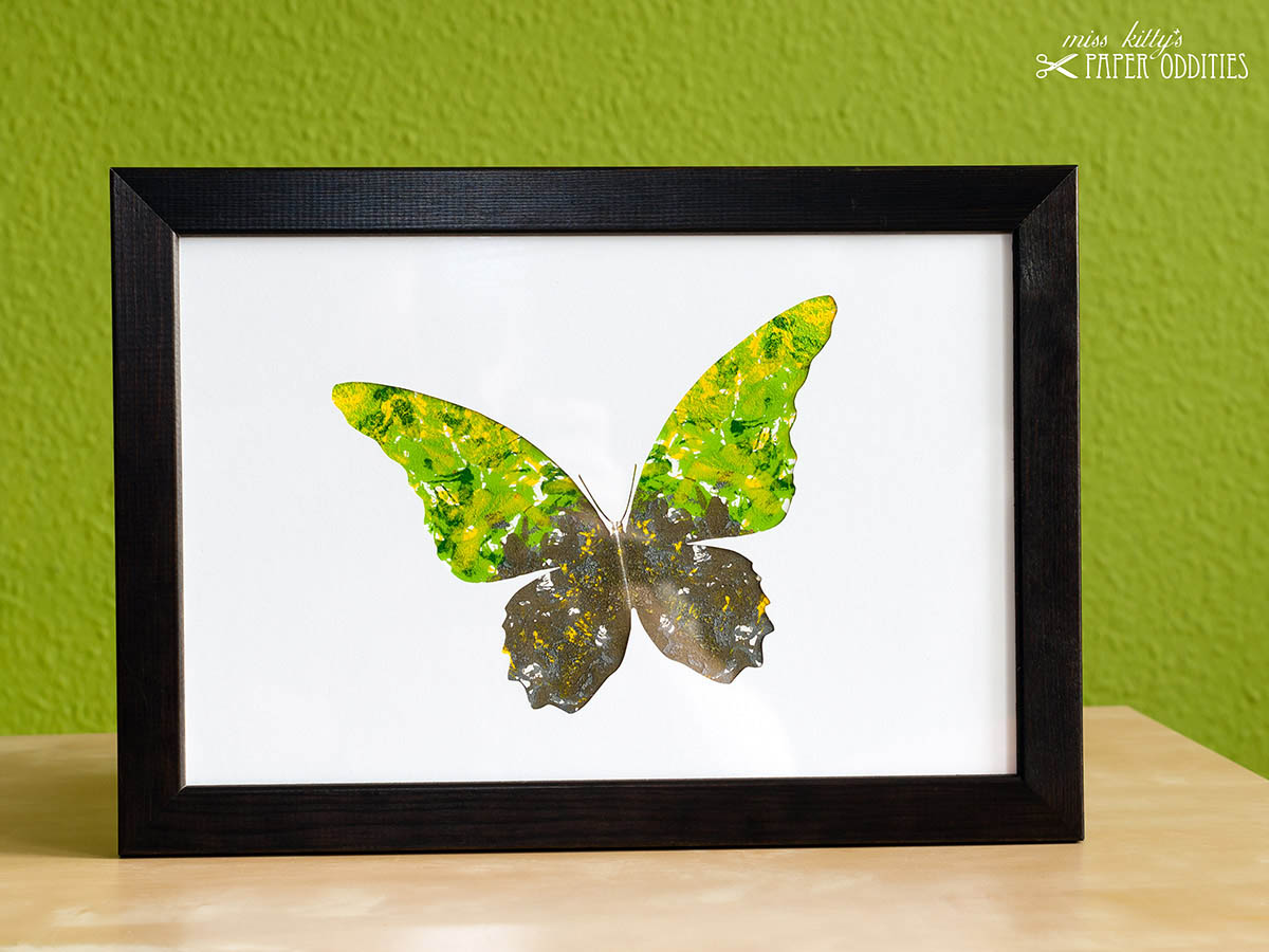 DIY Bastelset »Schmetterling No. 1«