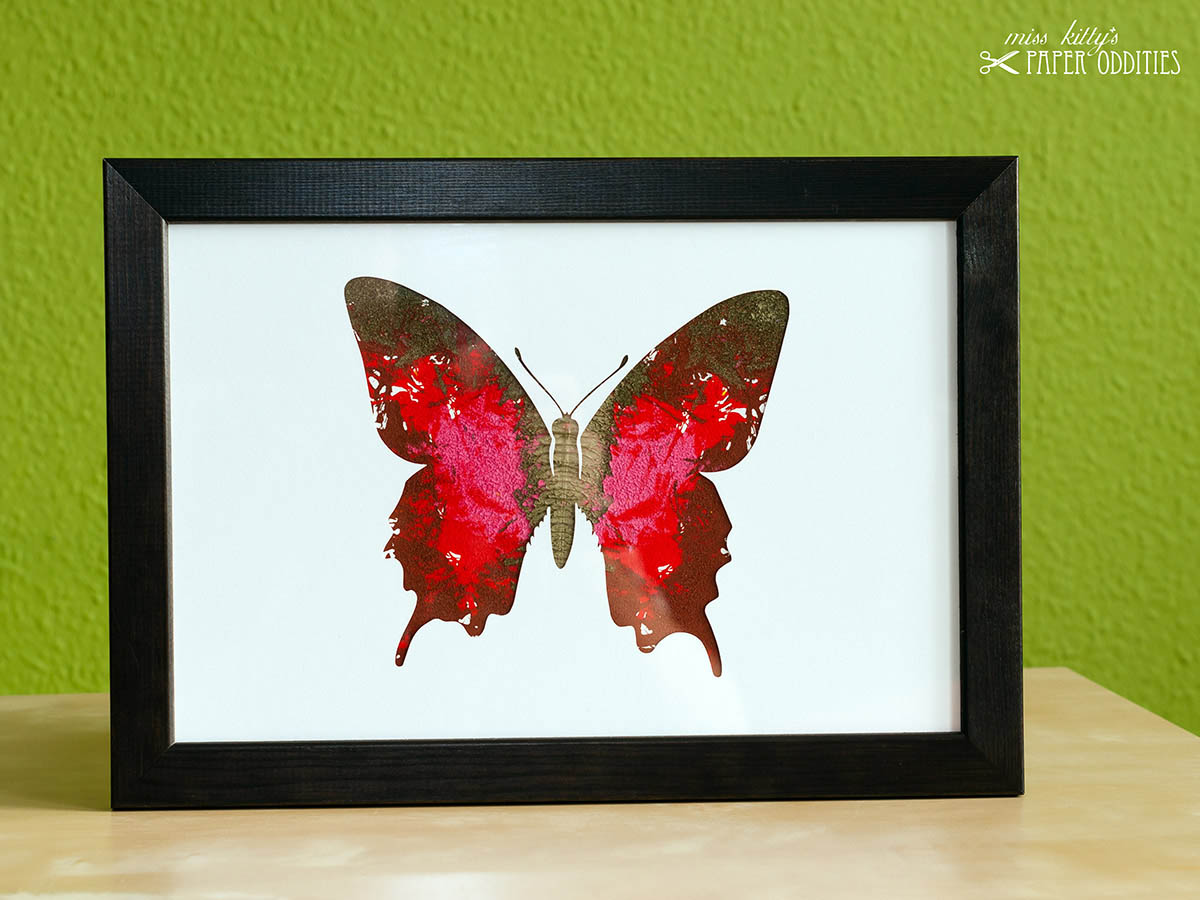DIY Bastelset »Schmetterling No. 4«